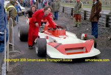 March 781 Val Musetti. Mallory Park   Aurora AFX British  F1 1979